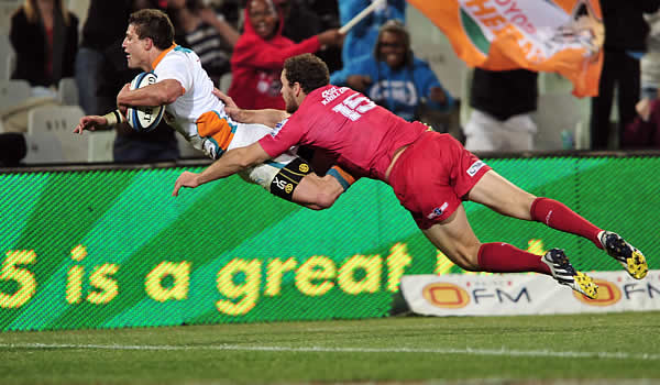 Piet van Zyl scored a try against the Reds in the team's last meeting. (SuperXV)