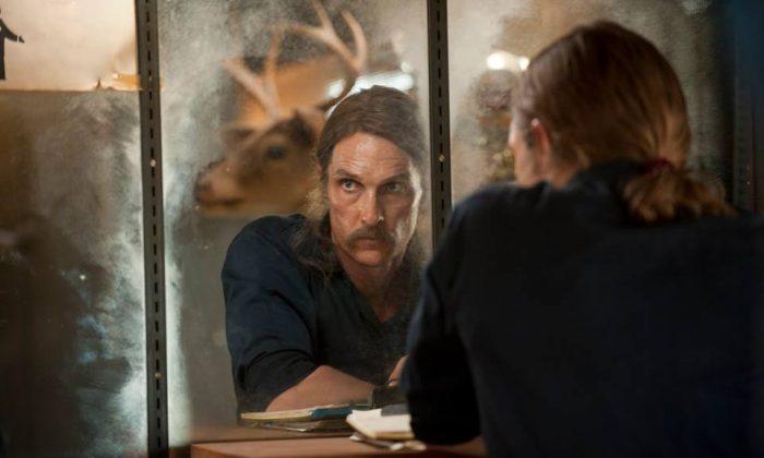Matthew McConaughey is True Detective season 1. (HBO)