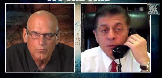 Jesse Ventura, left, and Judge Andrew Napolitano. (YouTube)