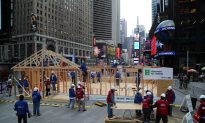 Habitat for Humanity Builds Home for Sandy Victim in Times Square