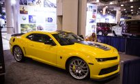 Transformers 4 (Age of Extinction) Chevy Cars on Display at New York International Auto Show