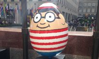 The Hunt is Over! 260 Big Easter Eggs Unveiled at Rockefeller Center