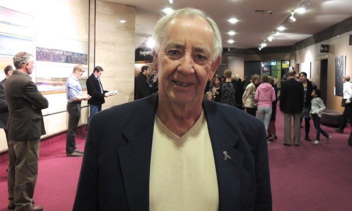 David Sabine, radio broadcaster, attended Saturday's evening performance of Shen Yun at the Adelaide Festival Theatre. (John Xiao/Epoch Times)