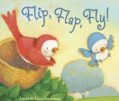 """Flip, Flap, Fly!"" by Phillis Root, illustrated by David Walker, published by Candlewick Press."