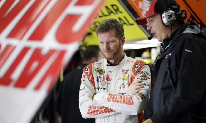 Dale Earnhardt Jr. in a file photo. (AP Photo/LM Otero)