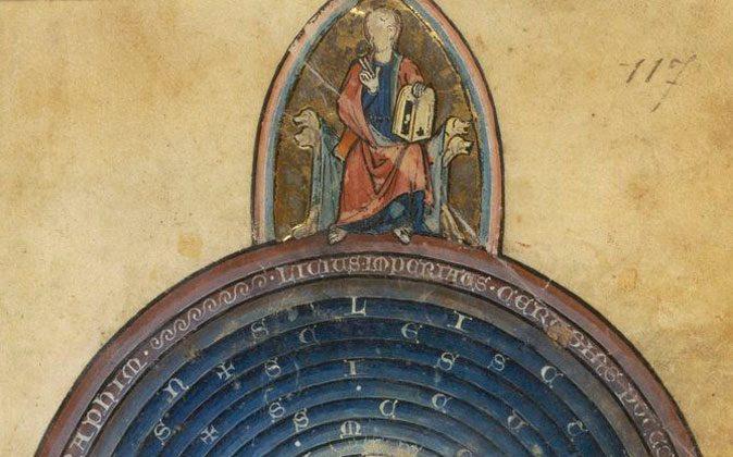 Image of the world. (Bibliothèque de France, Fr.14964, fol. 117)