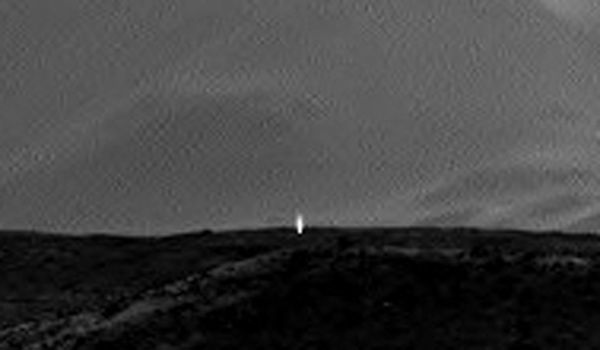 Image taken by the Curiosity Mars rover. (NASA)