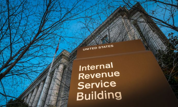 The Internal Revenue Service (IRS) building in Washington, D.C, on April 13, 2014. (AP Photo/J. David Ake)