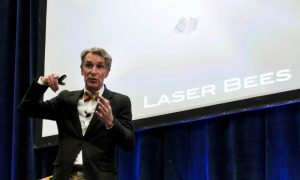 Bill Nye Talks Asteroid-Attacking Laser Bees, Other Cool Stuff