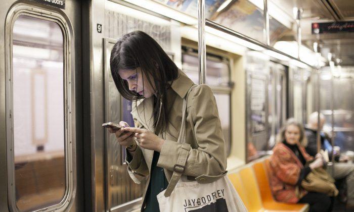 A subway in New York, April 1, 2014. (Samira Bouaou/Epoch Times)