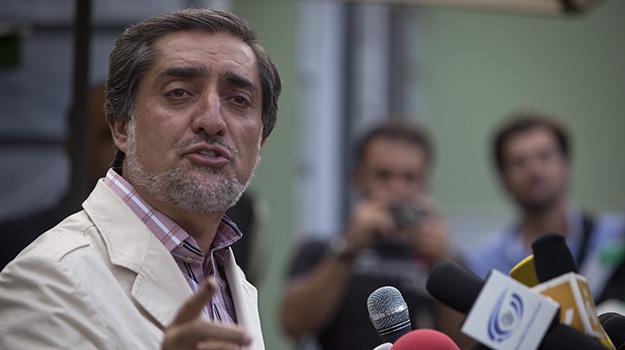 Presidential candidate Abdullah Abdullah. (Paula Bronstein/Getty Images)