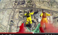 Watch: The Record-Breaking BASE Jump From the World's Tallest Building
