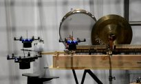 Talented Robots Fly and Play Musical Instruments (Video)