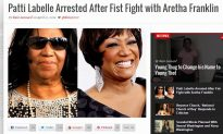 Aretha Franklin – Patti LaBelle Fist Fight Article isn't Real