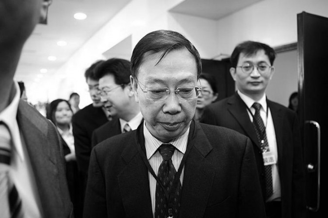 Huang Jiefu at a conference in Taipei, Taiwan, in 2010. Students at Hong Kong University have criticized the university for awarding an honorary degree to Huang Jiefu, former Chinese Vice Minister of Health, for his involvement in organ harvesting in China. (Bi-Long Song/The Epoch Times)