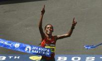 Jeptoo Repeats as Women's Boston Marathon Winner With Record Time