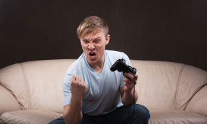 Losing, Not Violent Content, Triggers Video Game Rage