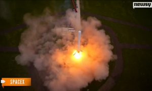 SpaceX Lands First Reusable Rocket Boosters