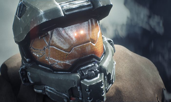 "This photo provided by Microsoft shows a scene from the ""Halo"" video game for the Xbox One. Master Chief is returning to the battlefield next year. Microsoft announced plans Friday, May 16, 2014, to release the video game sequel ""Halo 5: Guardians"" for the Xbox One and a ""Halo"" television series to be produced by Steven Spielberg in fall 2015. (AP Photo/Microsoft)"