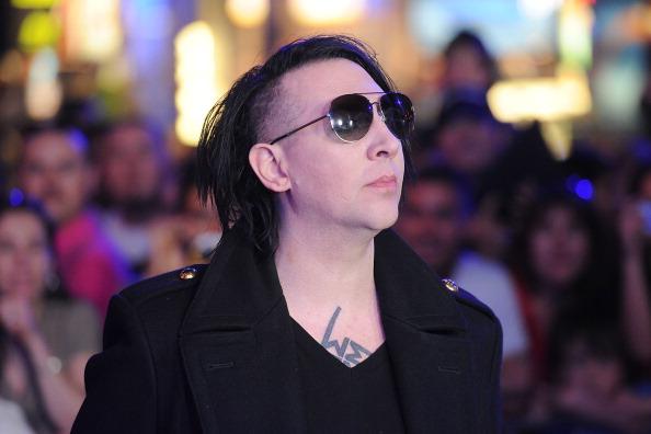Marilyn Manson in this file photo. (Jason Merritt/Getty Images)