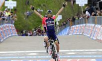 Ulissi Wins Another Stage, Evans Takes Pink in Giro d'Italia