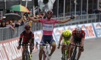 Matthews Wins Stage, Keeps Pink After Crash Thins Field in Giro d'Italia