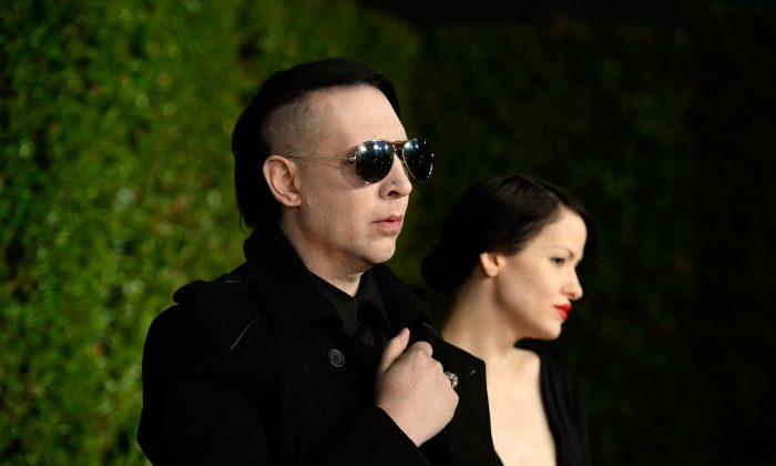 Marilyn Manson, in a file photo, will be part of the final season of Sons of Anarchy season 7. (Getty Images)