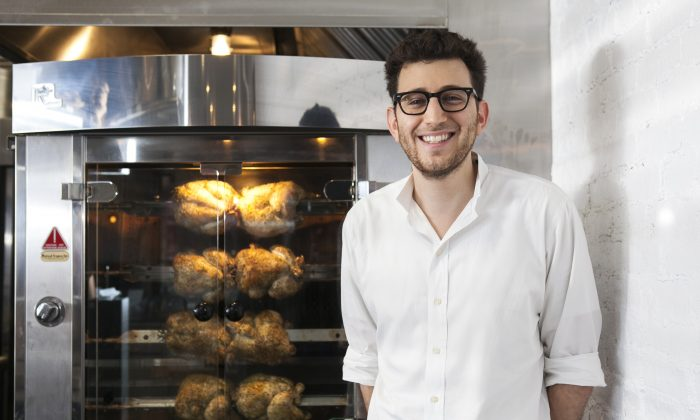 Poulette owner Adam Jama. (Samira Boaou/Epoch Times)