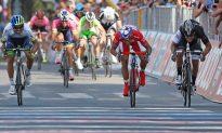 Third Sprint Win for Bouhanni in Giro d'Italia StageTen