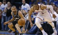 Spurs Unable To Stop Westbrook