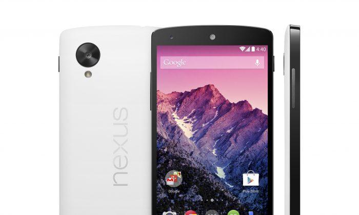 The Nexus 5. (Google/AP Photo)