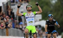 Battaglin Wins Another for Bardiani in Giro d'Italia Stage 14