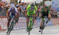 Canola Takes Breakaway Win for Bardiani in Giro d'Italia Stage 13