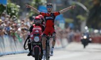 Phinney Solos to Stage Five Win in Tour of California