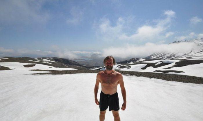 Wim Hof (Enahm Hof/www.Icemanwimhof.com)