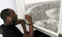 Watch: Autistic Artist Draws City Panoramas From Memory in Astoundingly Accurate Detail (Video)