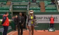 Serena Stunned in French Open