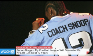 Snoop Dogg: 'My Football League Will Generate 50 NFLers'