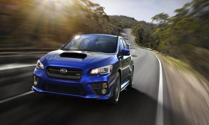 2015 Subaru WRX STI. (Subaru)