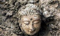 Over 1,000 Ancient Buddha Statues Uncovered in China