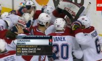 Canadiens Close Out Bruins
