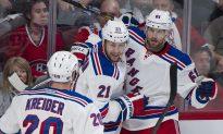 Rangers Grab 2-0 Series Lead