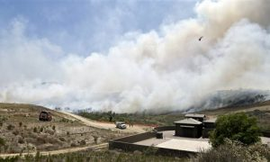 Rancho Bernardo Fire Pictures: Huge Wildfire in San Diego Forces Evacuations