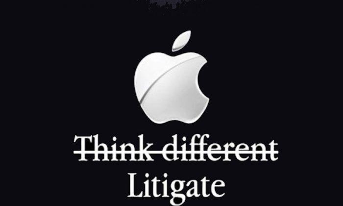 Apple litigate. (The Conversation)