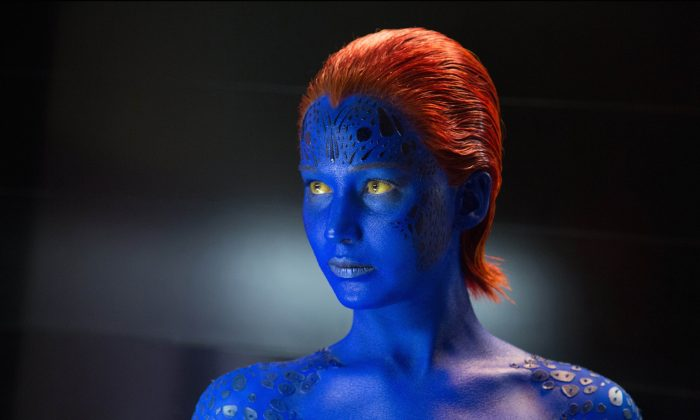 "Jennifer Lawrence as Mystique in ""X-Men: Days of Future Past."" (Alan Markfield/Twentieth Century Fox)"