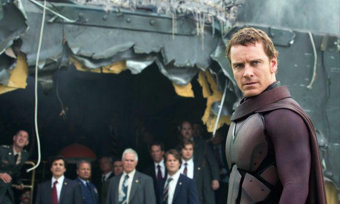 Erik/Magneto (Michael Fassbender) in X-Men Days of Future Past. (Marvel)