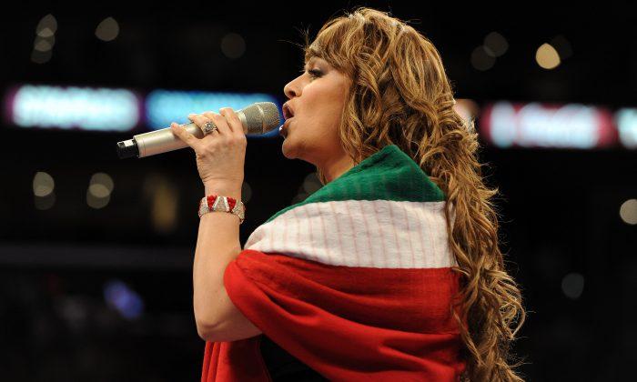 Jenni Rivera in a file photo. (Getty Images)