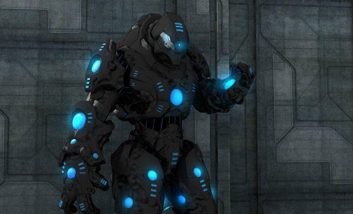 "An conceptual illustration of a ""battle robot."" (Jesse Lang/Thinkstock)"