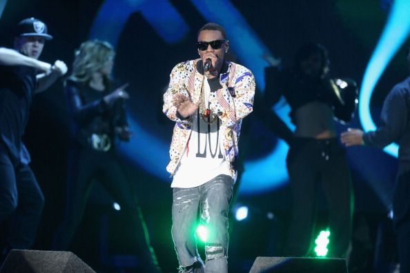 Rapper Soulja Boy performs onstage at the 3rd Annual Streamy Awards at Hollywood Palladium on February 17, 2013 in Hollywood, California. (Photo by Frederick M. Brown/Getty Images)