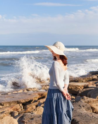 Choose a sun hat with a large enough brim to keep the sun off of your face. (Irina Silayeva/thinkstock)